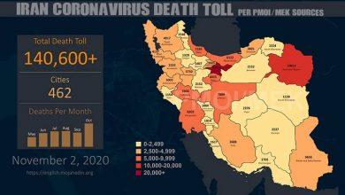 ran: Coronavirus Catastrophe – Fatalities Exceed 140,600 in 462 Cities