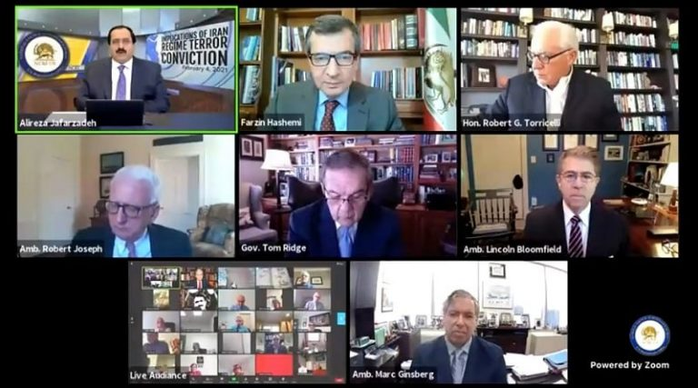Online Panel: Iran Opposition NCRI Weighs Regime Foreign Ministry's Role in 2018 Bombing Plot