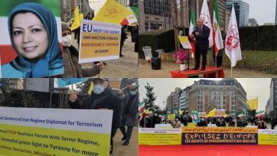 Photo of Iranians Call on EU for a Firm Policy Towards the Iranian Regime