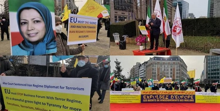Iranians Call on EU for a Firm Policy Towards the Iranian Regime