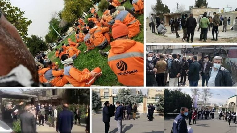 Dozens of Protests in Two Days Across Iran