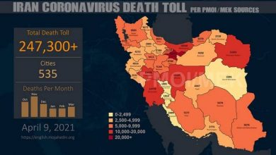 Photo of Iran – The COVID-19 Fatalities in 535 Cities Surpass 247,300