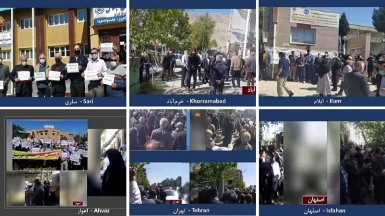 Iran – Enraged Retirees in 23 Cities (19 Provinces)