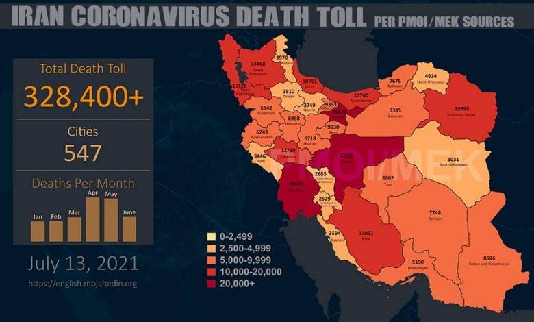 Iran: Staggering Covid-19 Death Toll Surpasses 328,400